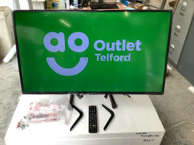 Veltech VE40FO01UK 40 Inch TV 1080p Full HD LED Freeview HD #RW26773