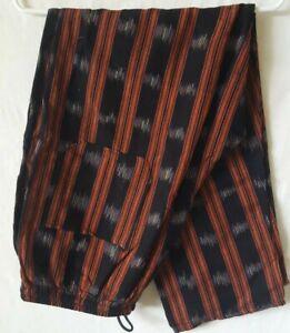 Festival-Pants-Handwoven-Bohemian-Hippie-Boho-Ethnic-Guatemalan-Trousers-Yoga