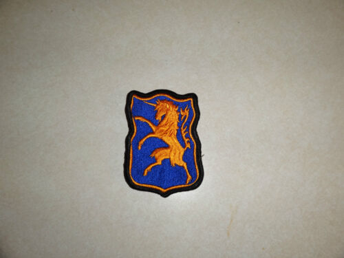 MILITARY US ARMY PATCH 6TH ARMY CAVALRY REGIMENT OLDER ORIGINAL SEW ON