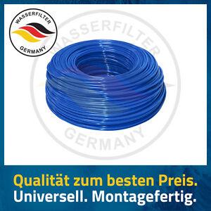 wasserschlauch montageschlauch 3 8 zoll osmoseleitung filter wasserfilter blau. Black Bedroom Furniture Sets. Home Design Ideas