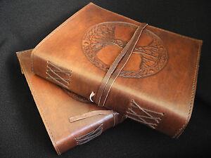 Handmade grimoire book of shadows