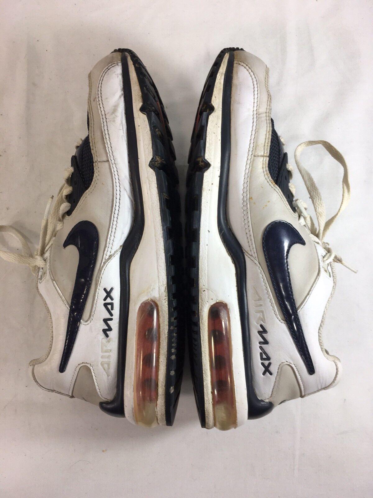Nike Nike Nike air max scarpe, scarpe mens 9 bianco blu 317551-141 basso alto merletto   Imballaggio elegante e robusto    Uomo/Donne Scarpa  51d7b7