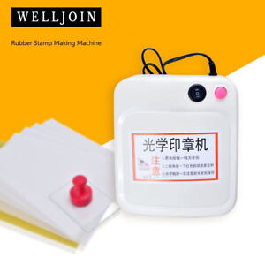 Image Is Loading Rubber Stamp Making Machine DIY Photopolymer Plate Exposure