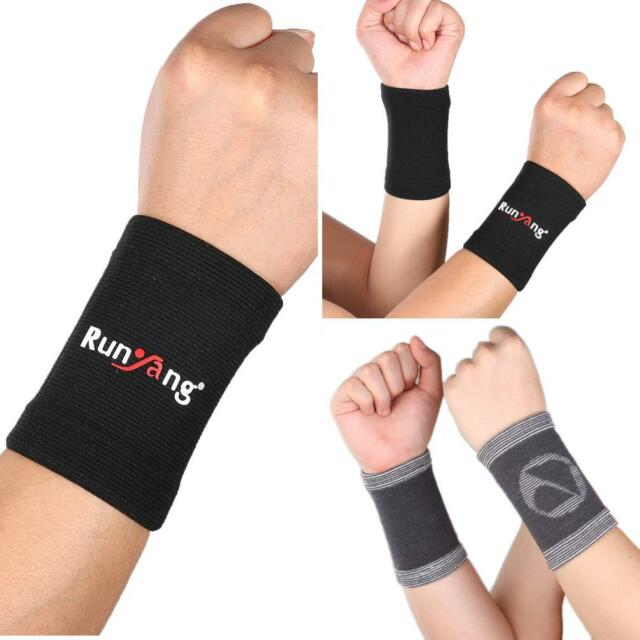 FT- 2Pcs Compression Wrist Brace Support Wrist Sleeve Relieve Carpal Tunnel Late