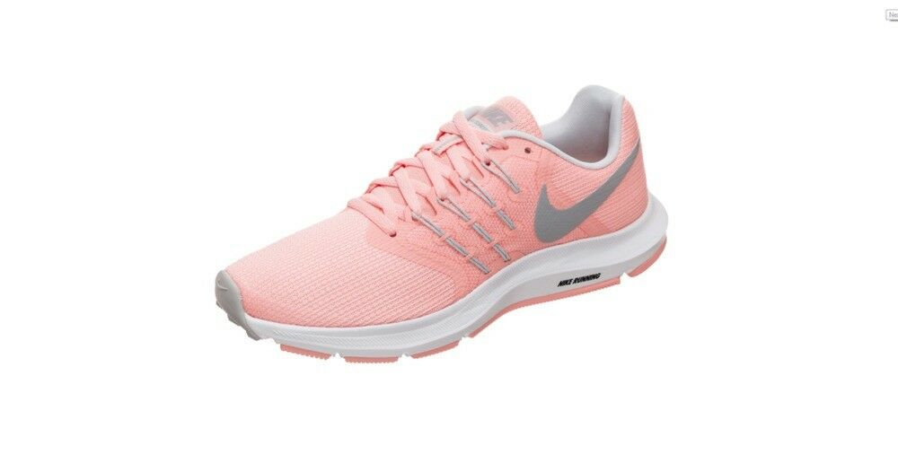 AUTHENTIC Womens NIKE SWIFT Running shoes - Size 8 - Pink, Grey - Latest Release