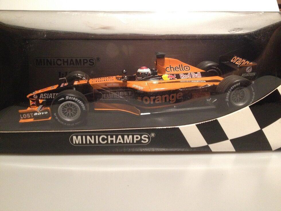 1 18 arancia Arrows Asiatech A22 J. Verstappen 100010014 Minichamps