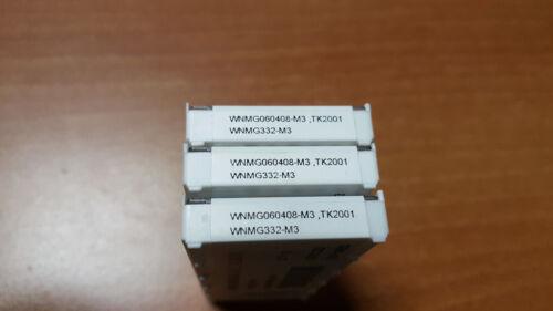 WNMG332-M3 TK2001 10pcs WNMG 060408-M3 TK2001 SECO