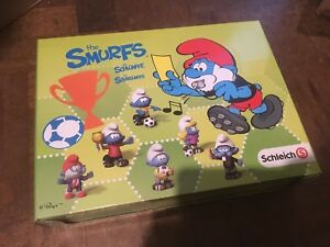Football-Smurfs-Shop-Counter-Sales-Display-BOX-ONLY-NO-SMURFS