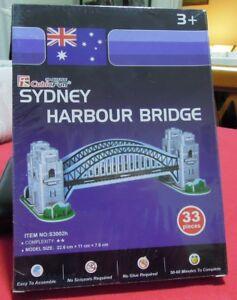 Puzzle 3D CubicFun cod S3002h SYDNEY HARBOUR BRIDGE S serie - Italia - Puzzle 3D CubicFun cod S3002h SYDNEY HARBOUR BRIDGE S serie - Italia