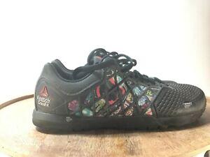 Rare-Reebok-CrossFit-Nano-4-0-Mens-Sneakers-Running-Shoes-CF74-Black-Size-7