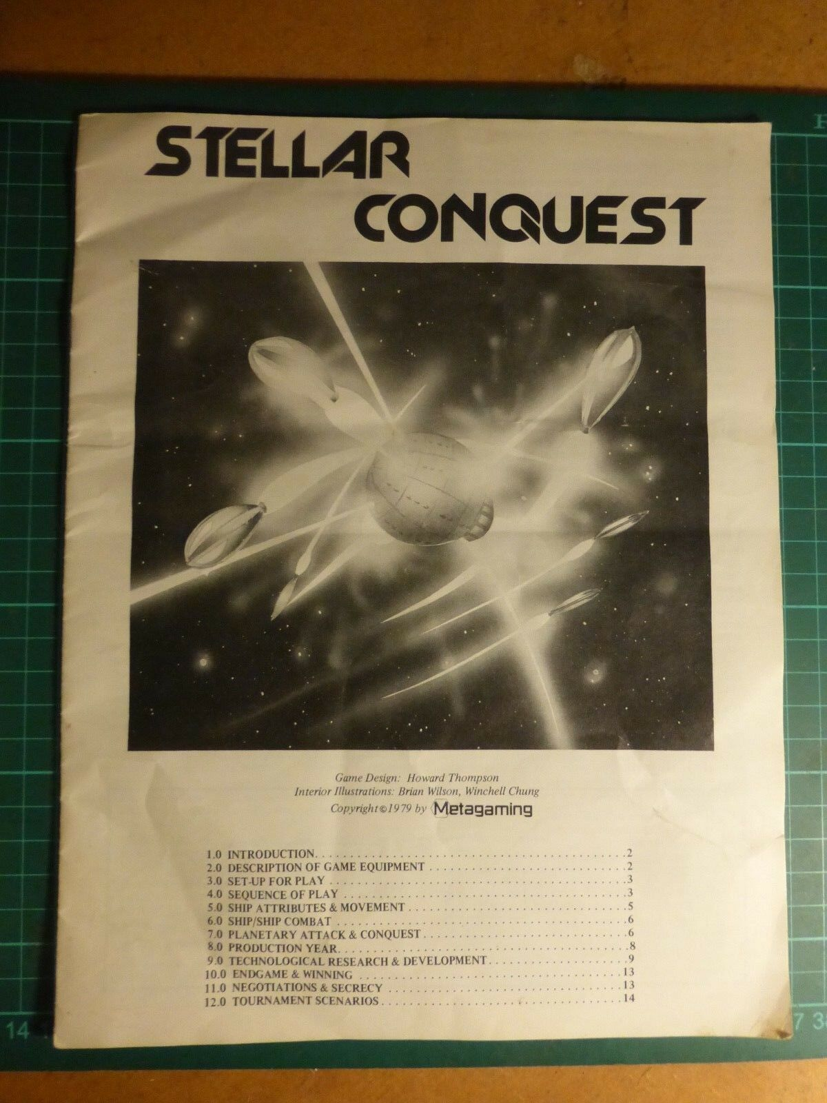 Stellar Conquest complet complet complet par Metagaming avalon Hill Sci-Fi Board wargame d9c263