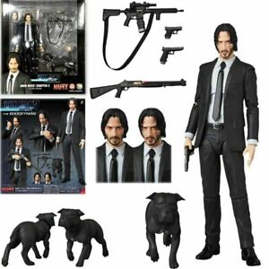New Medicom Toy Mafex 085 John Wick Chapter 2 Action Figure 16cm In Box Gift