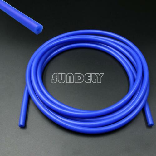 Boost Tube Silicone 3mm x 5m Vacuum Hose NEW Water Pipe Line Blue