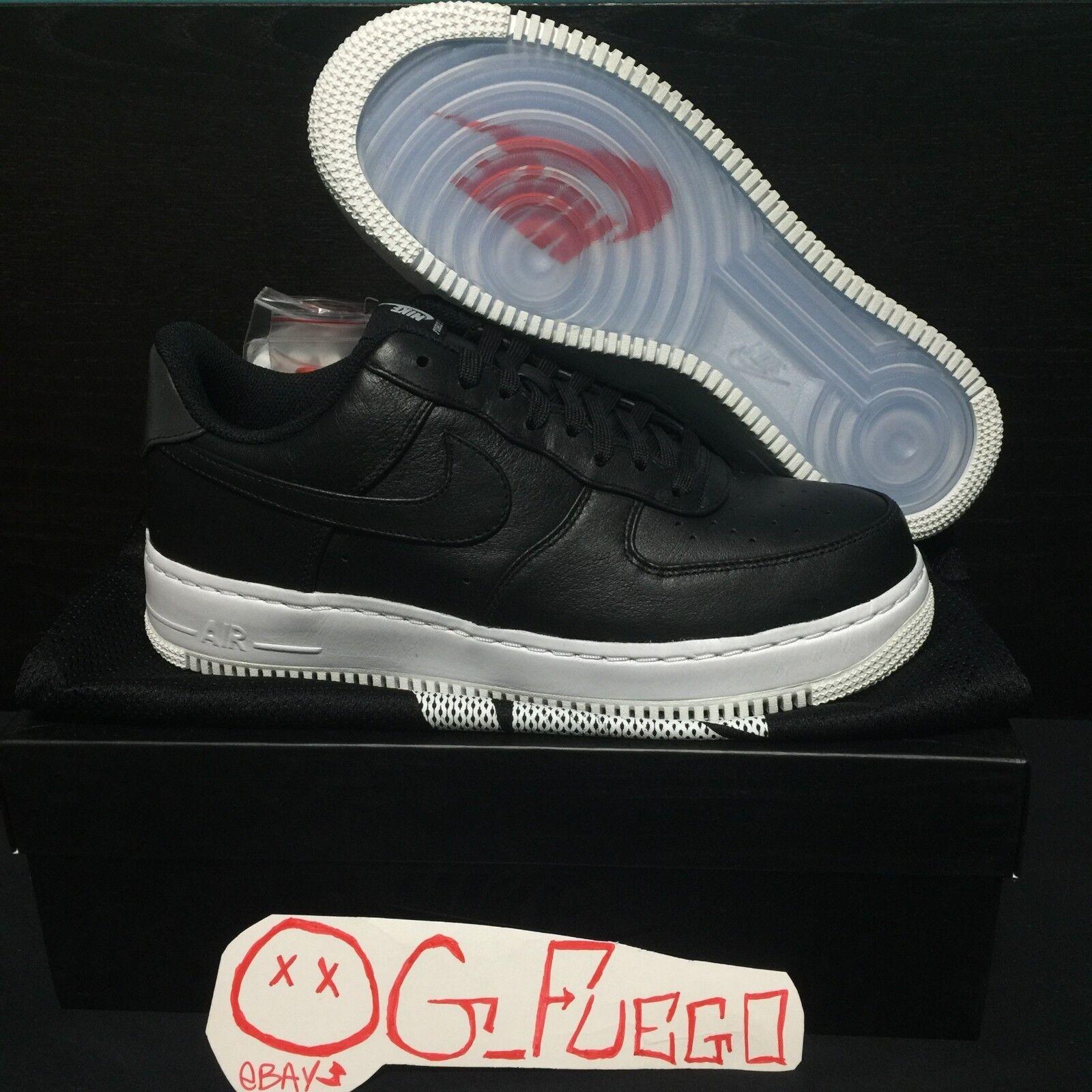 Nike Air Force 1 LOW CMFT SP 718078 008 NikeLab Black Men's Size 9