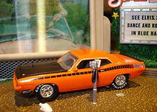 1970 PLYMOUTH AAR CUDA LIMITED EDITION MUSCLE CAR 1/64 JL HOT!!