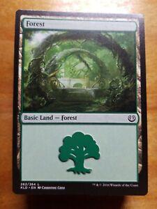 Mtg 10 x Basic land: FOREST NM Magic the Gathering