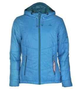 buy popular 7a827 b5410 Details zu Schöffel Adriana Venturi Damen Jacke Blau Türkis Größe 36 S oder  38 M Neu