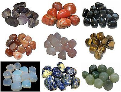 Large Healing Crystal Gemstone Tumblestone Reiki Chakra Tumbled 20-30mm x 1