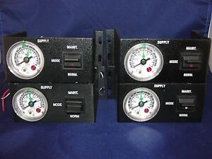 SMC Pressure Gauge with Switch Model GP46 Lot of 4