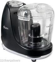 Oster 3320 220 Volt 3-cup Mini Food Chopper Processor 220v Overseas Use