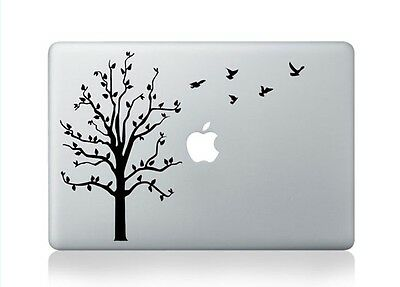 "Birds Tree Apple Macbook Air/Pro/Retina 13/15/17"" Vinyl Sticker Skin Decal"