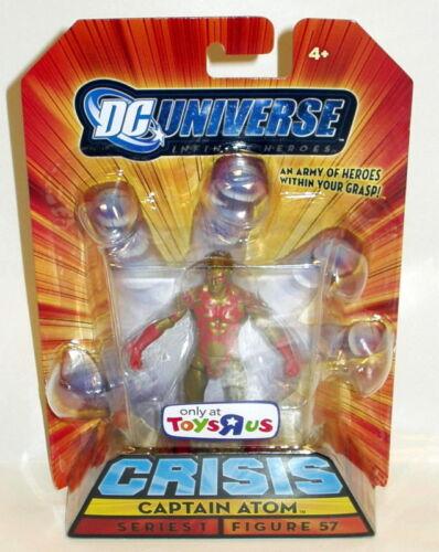 "DC Universe Crisis CAPTAIN ATOM Action Figure 4/"" TOYS-R-US only New"