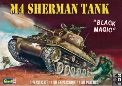 Revell Monogram 7864 WWII US Army M-4 Sherman Tank 1//35 Plastic Kit Ship for sale online