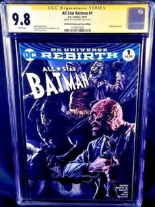 DC-Comics-ALL-STAR-BATMAN-1-CGC-SS-9-8-JOKER-CATWOMAN-WEDDING-GOTHAM-HARLEY-IVY