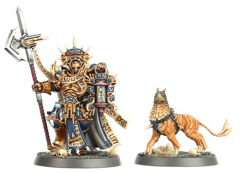 Warhammer Quest Shadows Over Hammerhal Stormcast Lord-Castellant & Gryph Hound