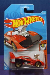 Red US Card #236 Dodge Charger Daytona Hot Wheels Black /& White