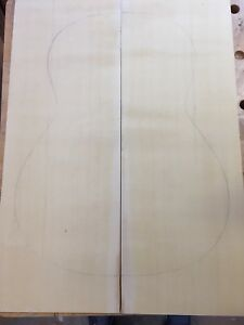 Figured-Canadian-Cypress-Yellow-Cedar-Guitar-Back-And-Side-Set