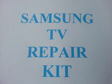 Samsung LE40R74BD LE40R73BD , PSU repair kit clicking & slow BN44-00134A