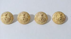 Lot-de-4-boutons-pour-GENERAL-Armee-Francaise-2-2-cm