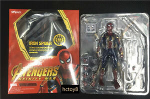 S-H-Figuarts-SHF-Avengers-3-Infinite-War-Iron-Spider-Man-Figure-Figure-New-Boxed