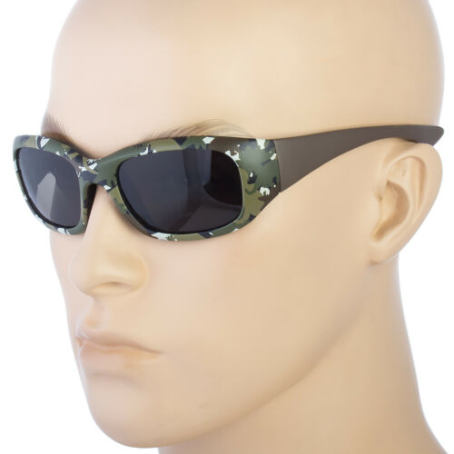 KIDS TODDLER BOYS GIRLS WRAP SPORT CAMOUFLAGE CLASSIC STYLE  SUNGLASSES SHADE b