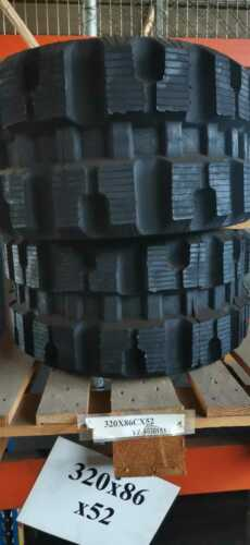 Gummikette Kettenlader 320x86x52 Takeuchi,Gehl,Mustang,Komatsu,Bobcat,JCB NEU!
