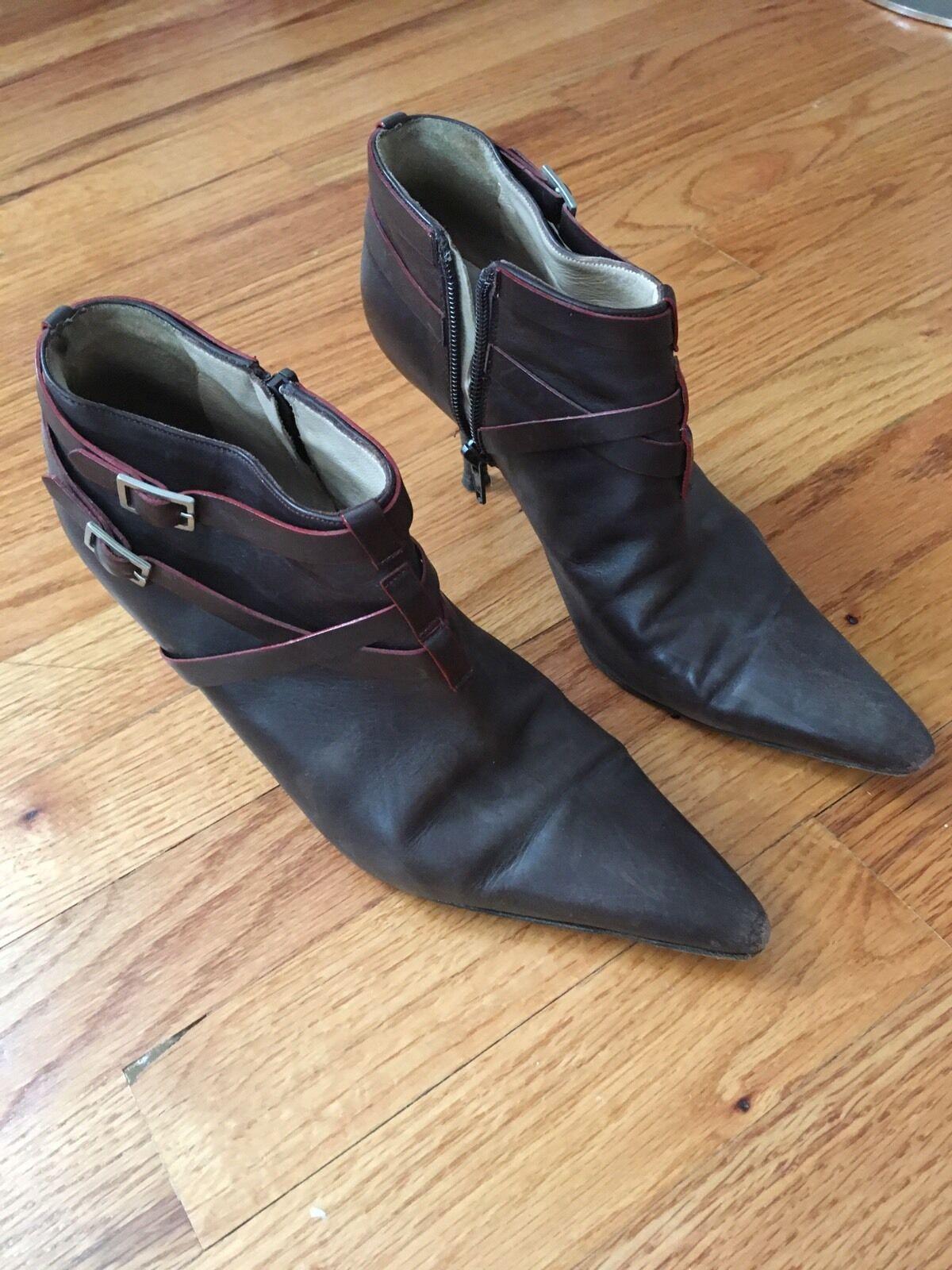 Authentic  Manolo Blahnik Boots Booties Size 37