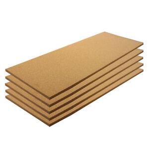 Cork Sheet Plain 12 X 12 X 1//2-5 Pack