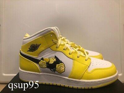 Nike Air Jordan 1 Mid Dynamic Yellow