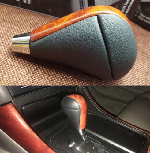 Brown Wood Gear Shift Knob For Lexus RX350 IS250 GS300 GS350 LS460 LX470 03-14