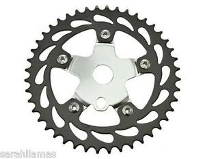 Bicycle Sprocket Chainring 36 T 1//2 x 1//8 Chrome Cruiser Lowrider Vélos 137060