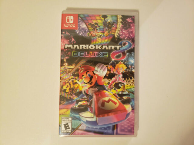 Mario Kart 8 Deluxe (Switch, 2017) Brand new sealed