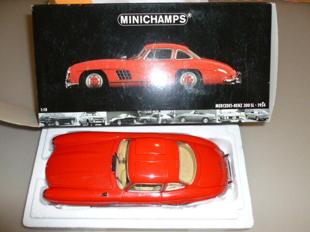 negozio a basso costo Die cast  1 1 1 18  Minichamps 1  18 Mercedes Benz 300 SL 1954 WITH scatola  negozio online outlet
