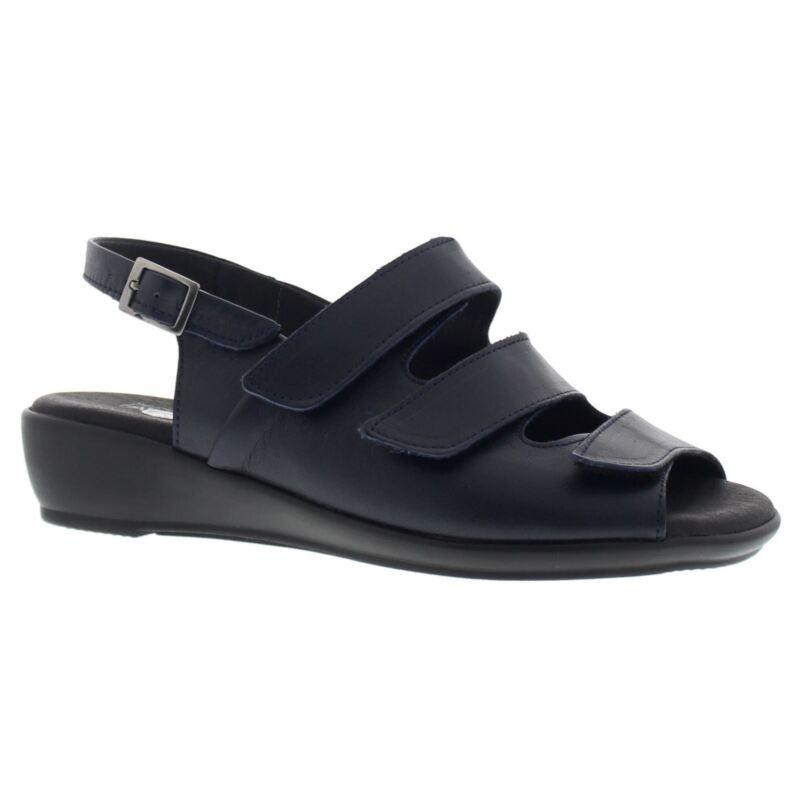 Arcopedico Womens Sandal 3 Navy Leather Sandals