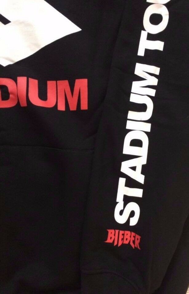 Justin Bieber Purpose  Stadium Stadium Stadium Tour Hoodie Sweatshirt m neu schwarz H&M      Angenehmes Aussehen  60cbc1