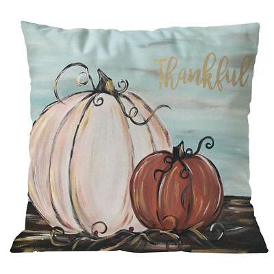 Halloween Pillows Cover Fall Decor Pillow Case Sofa Waist Throw Cushion Cover LE