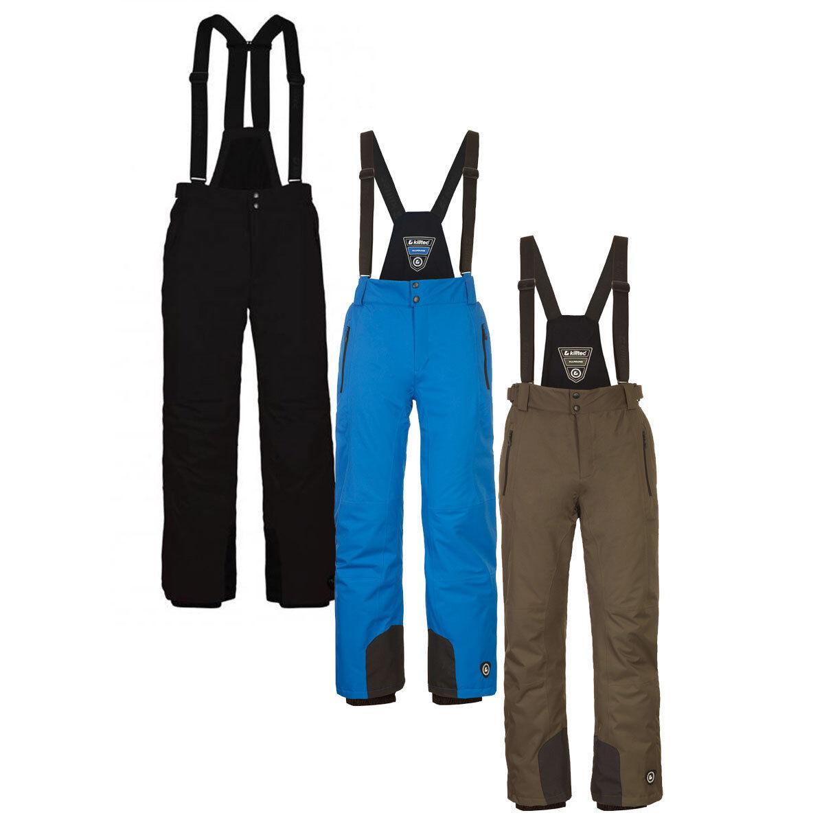 Killtec enosh Uomo Uomo Uomo Sci Snowboard Pantaloni Impermeabile supporto rimovibile 30920 225295