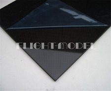 250x100x1.0mm With 100/% Real Carbon Fiber plate panel sheet 3K twill Matte weave