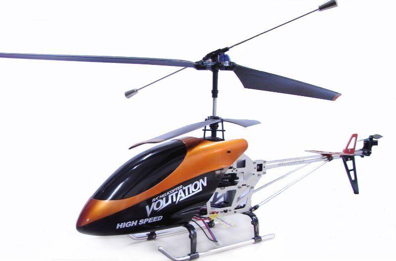 RC 9053 GRANDE Syma Volitation 3Ch Radiocomando Gyro Metallo R/C Elicottero