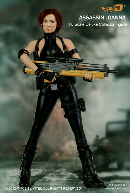 Phicen  1 6 Assassin Joanna azione cifra Perfect Dark  vendita scontata online di factory outlet